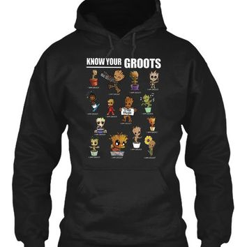 Know Your Groots 2018 T Shirt