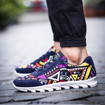 Tribal Sport Casual Shoes
