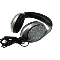 Rhinestones Headphones