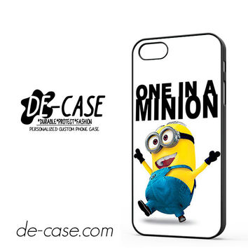 One In A Minion Despicable Me For Iphone 5 Iphone 5S Case Phone Case Gift Present