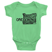 Oregon State Baby Onesuit
