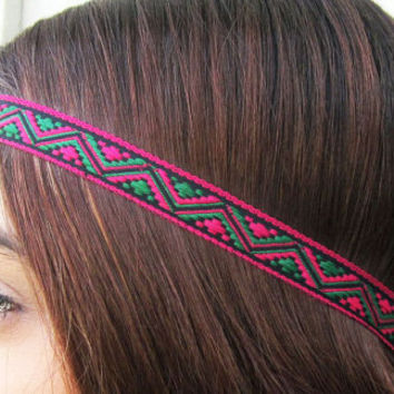 Headband, Aztec, Tribal, Chevron, Headband for Women, Accessories, Tapestry Headband, Hair Wrap, Bohemian Headband, Boho, Tribal, Hipster