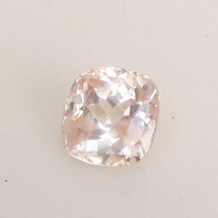 Padparadscha Peach Pink Color Sapphire Cushion Shape Over 9 Carats for Engagement Ring or Wedding Anniversary