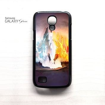 4 element avatar for Samsung Galaxy MiniS3/S4/S5 phonecases