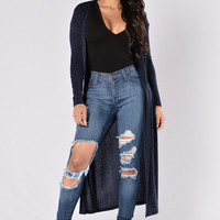 Moonstruck Duster - Navy
