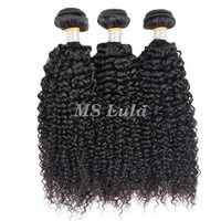 virgin brazilian kinky curl hair bundles 3pcs