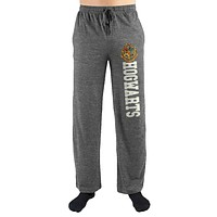 Harry Potter Hogwarts School of Witchcraft and Wizardry Crest Print Mens Loungewear Lounge Pants