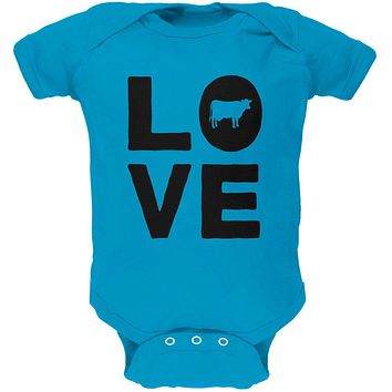 Cow Love Soft Baby One Piece