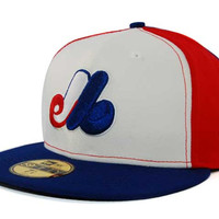 Montreal Expos MLB Cooperstown 59FIFTY Cap