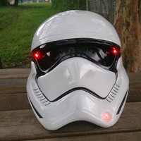 Custom Star Wars Real Motorcycle Helmet Stormtrooper