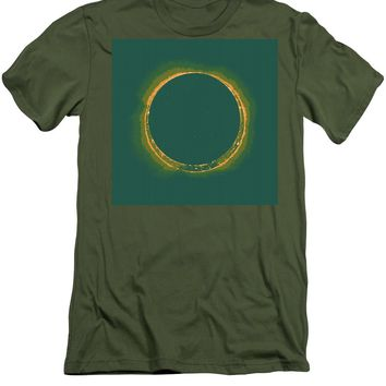 Solar Eclipse By Hinode Observes, Nasa 4 - Men's T-Shirt (Athletic Fit)