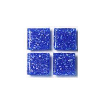 Wholesalers USA Mini Vitreous 0.38'' x 0.38'' Glass Mosaic Tile in Cobalt Blue
