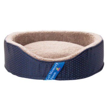 Top Paw® Gel Memory Foam Lounger Pet Bed