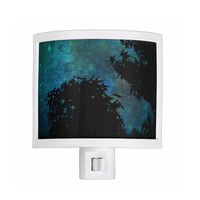 Night Light - Blue, Night, Sky, Stars, New Baby, Nursery, Bathroom, Bedroom, Guest Room, New Home, Gift - Made To Order - NSIJ#76