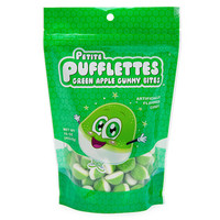 Petite Pufflettes Gummy Bites - Green Apple: 16-Ounce Bag