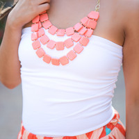 Basic Tube Tops with Shelf Bra
