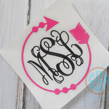 Best Monogrammed Car Decals Stickers Products On Wanelo - Vinyl decal stickers for cars