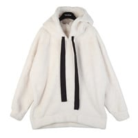 Soft Hoodie Pullover with Side Zippers
