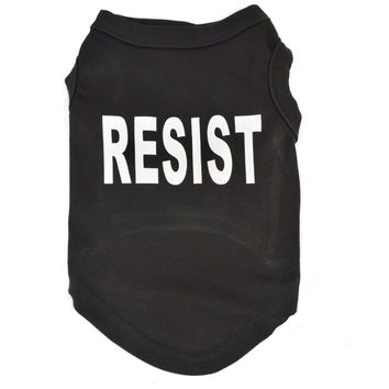 RESIST Dog Cat T-Shirt