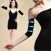 Womens Slim Weight Loss Arm Shaper Fat Buster off Cellulite Belt Wrap Band  D_L