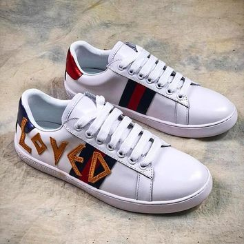 GUCCI Ace Embroidered Low Top Sneaker #1 - Best Online Sale