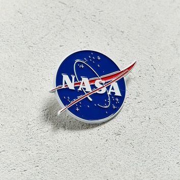 NASA Meatball Logo Pin | Urban Outfitters