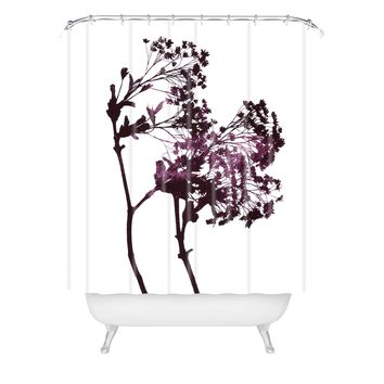 Garima Dhawan Dancing Trees Violet Shower Curtain