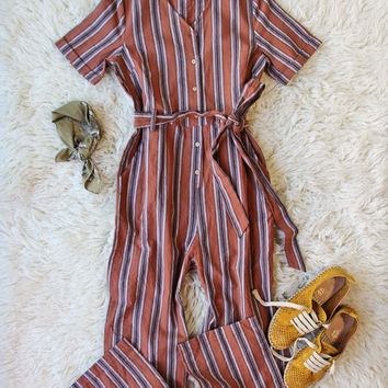 The 70's Wide Leg Jumpsuit
