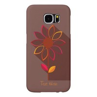 Abstract Autumn Flower Samsung Galaxy S 6 case Samsung Galaxy S6 Cases