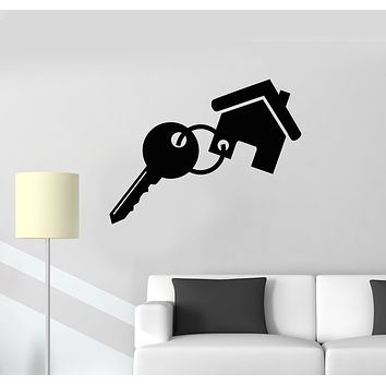Vinyl Wall Decal Real Estate Rent Home Agency Broker Stickers Mural (g2550)
