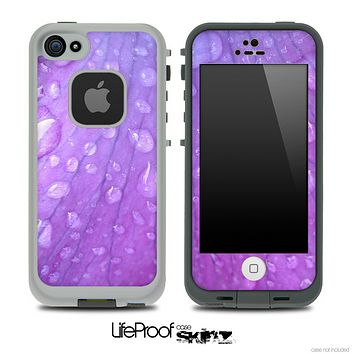 c80e99fc9c5 Purple Droplet Skin for the iPhone 5 or 4 4s LifeProof Case