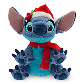 Santa Stitch Plush - Medium - 12''