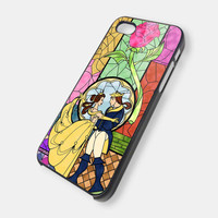 Disney Beauty and The Beast Image 2 iPhone 5 Case, iPhone 4 Case, iPhone 4s Case, iPhone 4 Cover, Hard iPhone 4 Case OC18