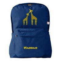 Giraffe family backpack