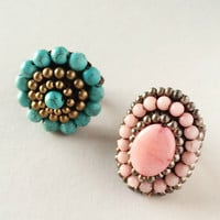 Zari Ring Set - Handcrafted
