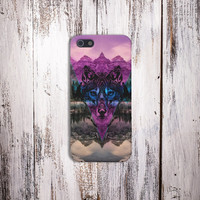 Tribal Wolf Chevron Case for iPhone 5 iPhone 5S iPhone 4 iPhone 4S and Samsung Galaxy S5 S4 & S3