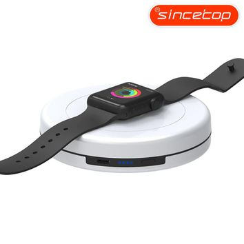 Wireless Smart Charger Dock for iPhone and for AppleWatch,Built-In Charging Battery Support 2A Quick Charge,Portable Power Bank