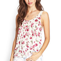 Floral Fields Crochet Tank