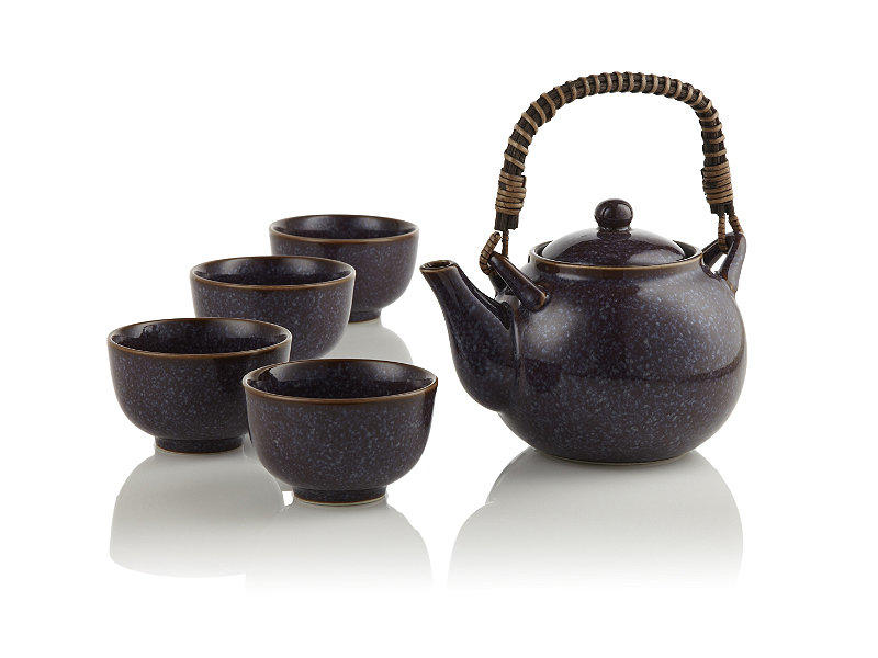 Aubergine teapot teavana from house collection - Teavana teapot ...