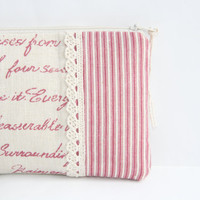 Pencil Case Zipper Pouch Cosmetic Bag