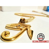 18K Eye of Horus Chain