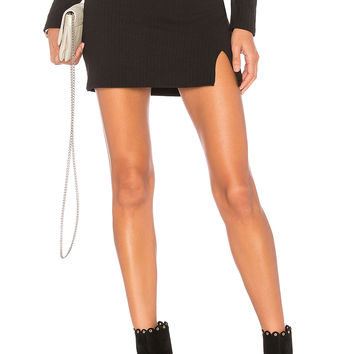 Privacy Please Springfield Mini Skirt in Black | REVOLVE