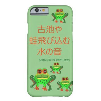 Frog Haiku Barely There iPhone 6 Case