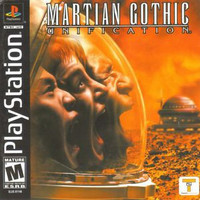 Martian Gothic: Unification (Sony PlayStation 1, 2001) Complete
