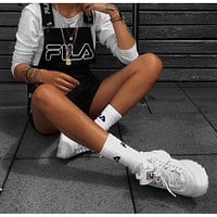 '' FILA ''Fashion Women Romper Jumpsuit Pants