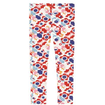 Fendi Girls Pink Colorful Leggings