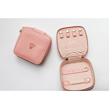 leMel Jewelry Travel Case