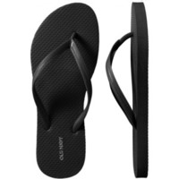 Old Navy Womens New Classic Flip Flops - Black