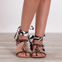 sankura tribal wrap sandals - $34.99 : ShopRuche.com, Vintage Inspired Clothing, Affordable Clothes, Eco friendly Fashion