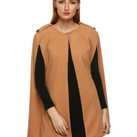 Cling Cape Coat